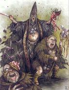 Sectarios de Nurgle por Pat Loboyko