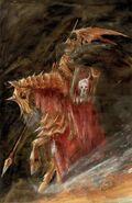 Caballeros Sangrientos por John Blanche