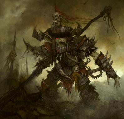 Pastor de Garrapatos por Daarken Goblin