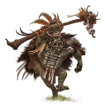 Adrian Smith Forgeworld Chamán Orco