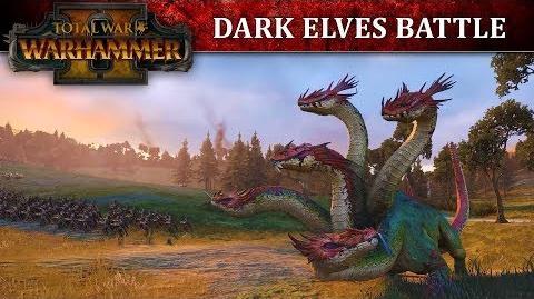 CuBaN VeRcEttI/Los Elfos Oscuros aparecen en el fragor de la batalla de Total War: Warhammer II