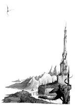 Ciudad Elfos Oscuros por Dave Gallagher