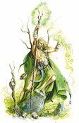 Hechicero Jade por Dave Gallagher