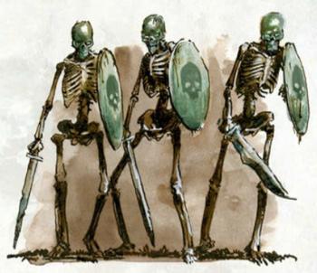Los Cráneos Verdes Guerreros Esqueleto Parravon Neferata Fin de los Tiempos