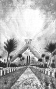Ciudad Templo por John Blanche