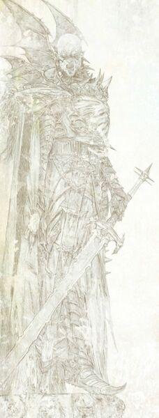 Conde vampiro dibujo