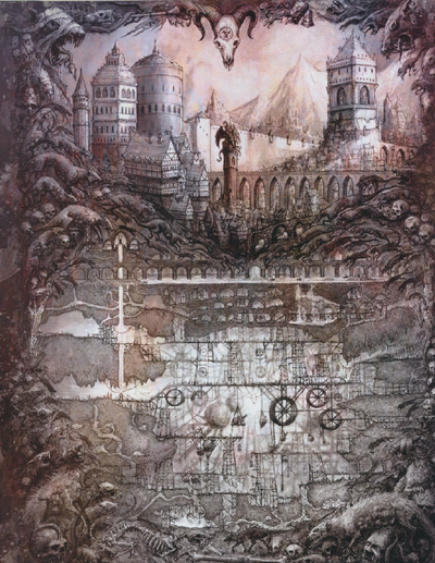 Imperio subterraneo skavens dibujo