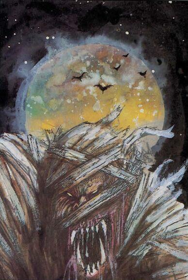 Momia por John Blanche