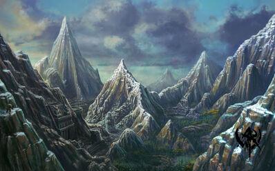 Montañas Espinazo de Dragón Warhammer Online