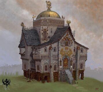 Templo de Sigmar por Jonathan Kirtz