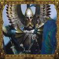 Altos elfos warhammer boton