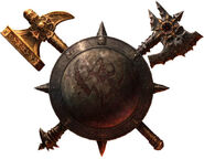 Logo Warhammer Age of Reckoning por Michael Phillippi