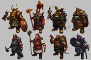 Enanos warhammer Online por Michael Phillippi