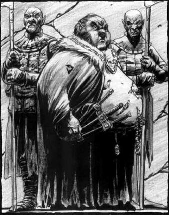 Jaggedrib Siervos del Caballero Caníbal por Tony Parker