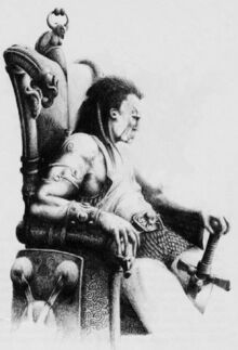 Rey Herla por Adrian Smith WD137 Inglesa