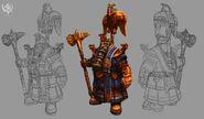 Sacerdote Rúnico Warhammer Online por Michael Phillippi