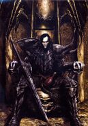 Malus Darkblade por Clint Langley Portada de Warhammer Monthly