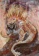 Bestia de Nurgle 02 por John Blanche