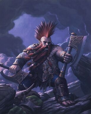 Matador Enano Warhammer Online por Chris Dien