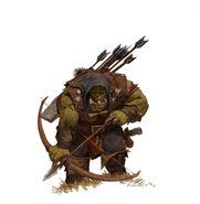 Adrian Smith Forgeworld Arquero Orco