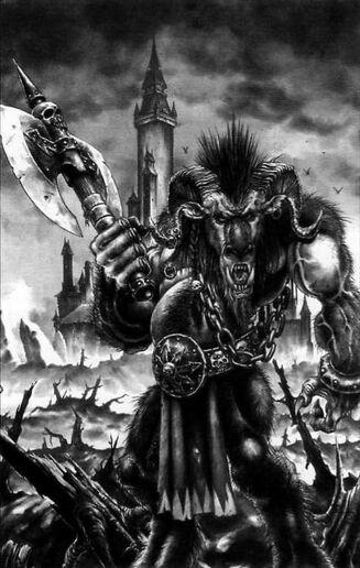 Hombre Bestia Imagen 4ª Edición