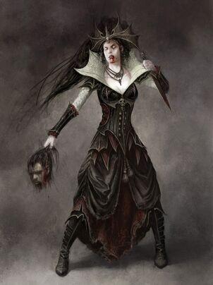 Reina Neferata por Daarken