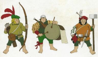 Soldados Halflings