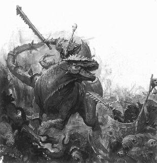 Batalla Lagarto skavens