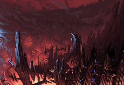 Borde del Crater Caos Warhammer Online