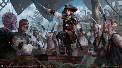 Capitán de Flota Vampiro por Josu Hernaiz
