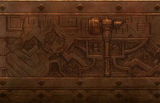 Detalles muro Enanos Warhammer Online por Michael Phillippi
