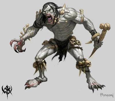 Gargantúa Warhammer Online concept art