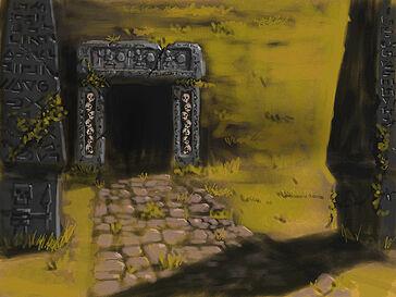 Ratskull Barrow por Toby Hynes Skaven