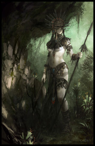 Exploradora Amazona por Daarken Mike Lim