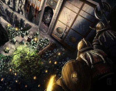 Fortaleza Asediada de Reid Southern Rahll Orcos Enanos