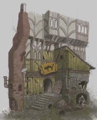Warhammer age of reckoning conceptart RRNqC Edificio Imperio
