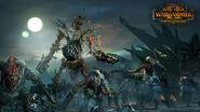 Coloso Necrofex y Ogros Zombi Warhammer Total War II