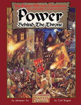 Portada del Poder tras el trono ingles