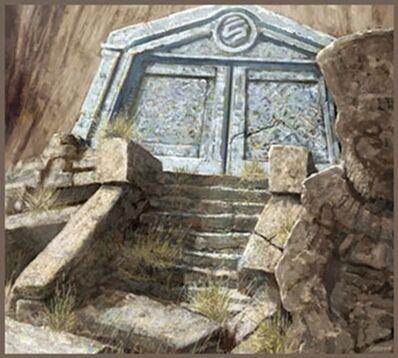 Puertas de Karaz-a-Karak por Rick Sardinha