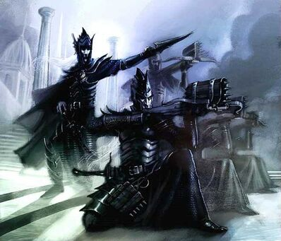 Ballesteros Elfos Oscuros por John Gravato
