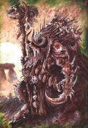 Morghur John Blanche Hombres Bestia