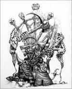 Queek El Coleccionista de Cabezas por Mark Gibbons