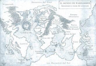 Mapa Imperio Colonial Altos Elfos