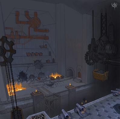 Fortaleza Enana Interior Karak-ocho-Picos Warhammer Online Age of Reckoning
