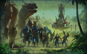 Imagen Campaña Hombres Lagarto Warhammer Total War II por Bayard Wu