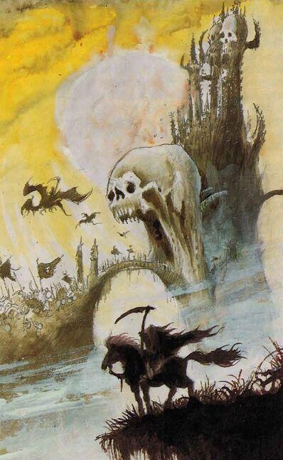 Fortaleza No Muertos por John Blanche