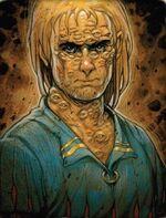 Mutación Bestia cientos de ojos Caos por Vincent Dutrait