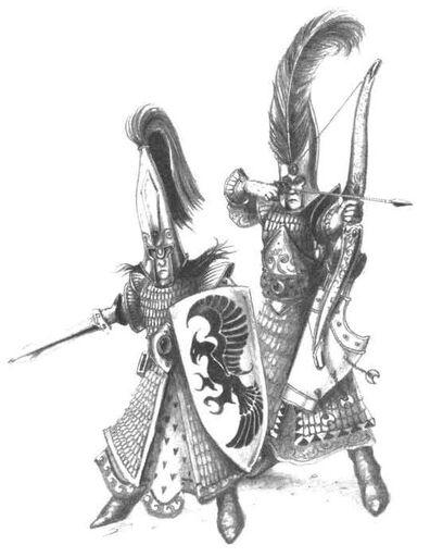 Soldados Altos Elfos