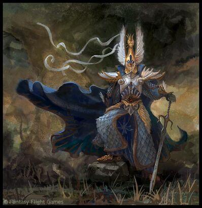 Warhammer Armadura de dragón de Aenarion por Andrew Johanson