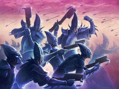 Imagen Guerreros Elfos Oscuro